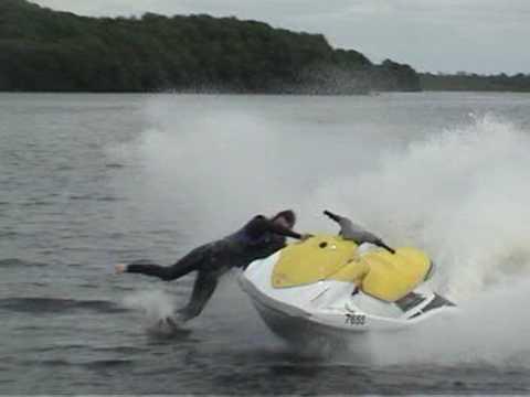 Jet Ski Wipeout Crash Jetski Lough Erne Accident Funny Youtube