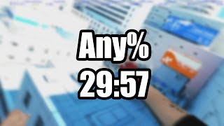 Mirror's Edge: Any% Speedrun - 29:57