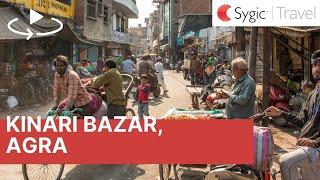 360 video: Kinari Bazar, Agra, India