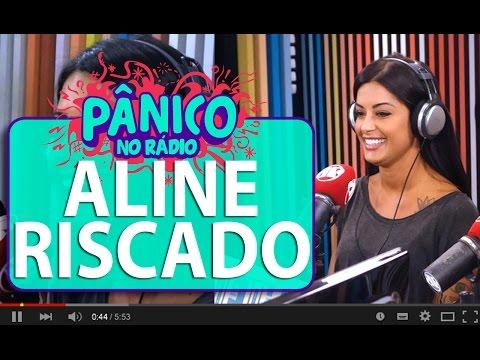Aline Riscado Mostra Irritação Com Fabíola Reipert | Pânico