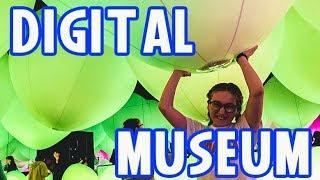 Japan Trip Must See! Digital Arts Museum #teamLabBorderless