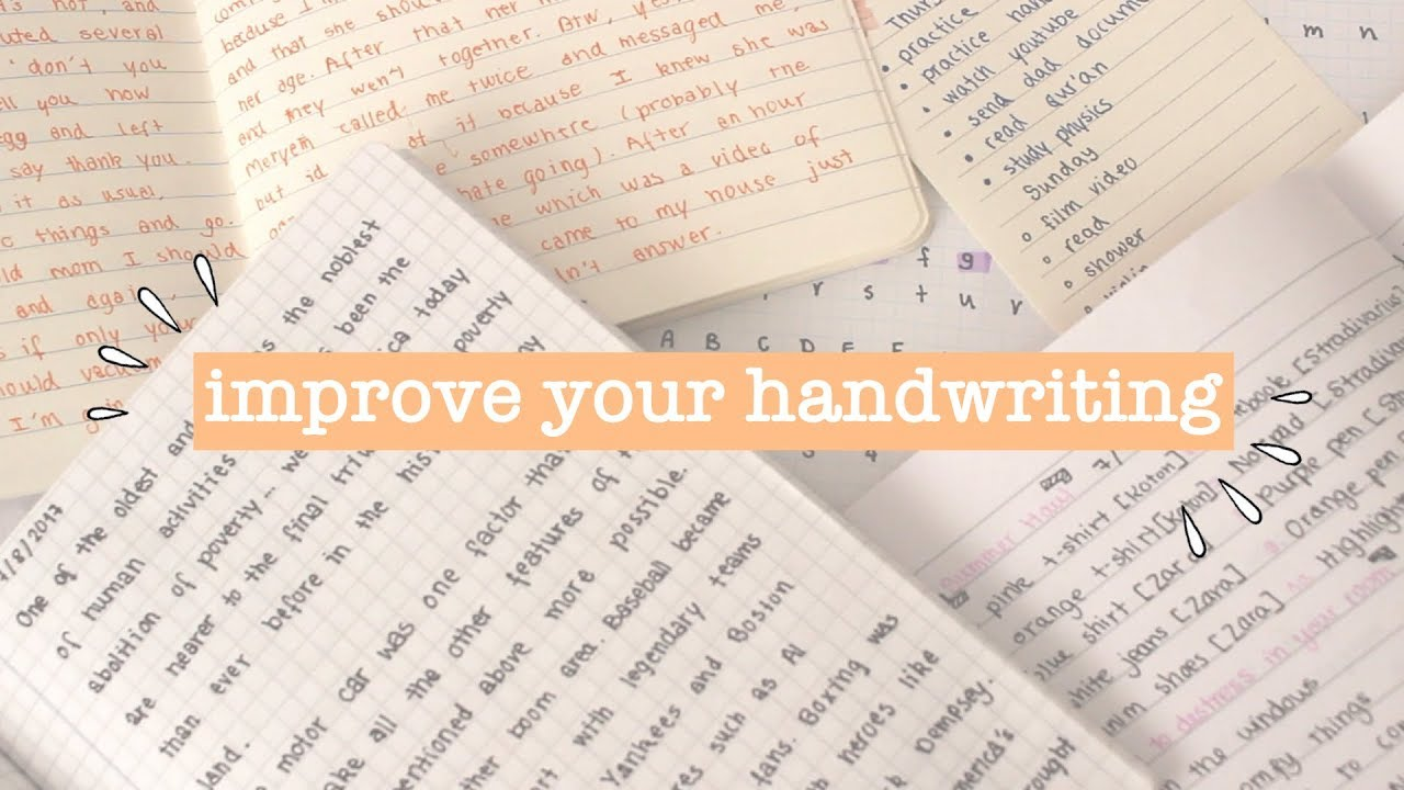 how to fix your handwriting