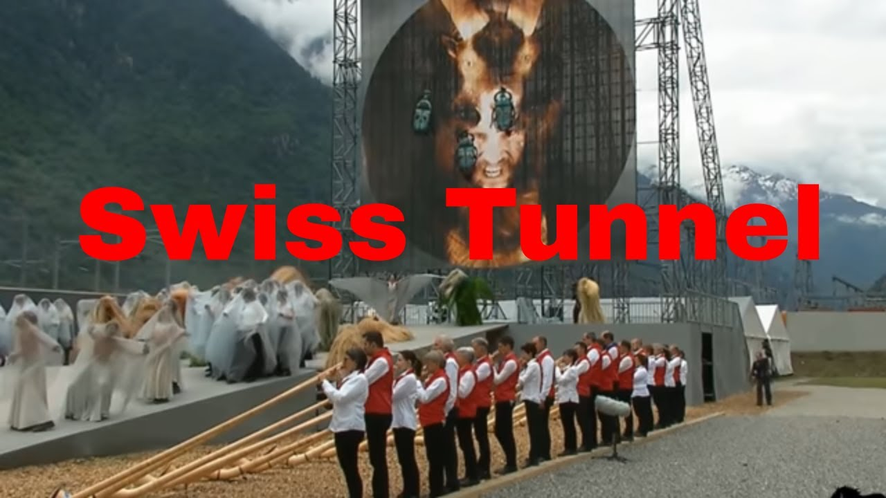 Occult Satanic Ritual Swiss Tunnel Opening Ceremony Disturbing Part 2