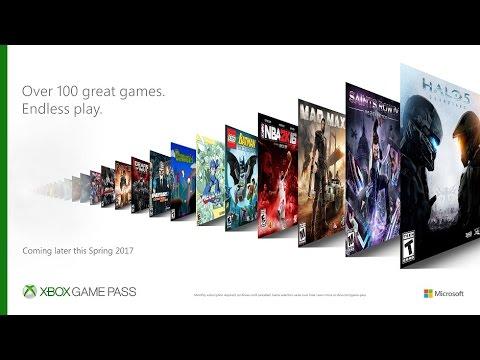 Xbox Game Pass อาวุธใหม่ของ ไมโครซอฟต์
