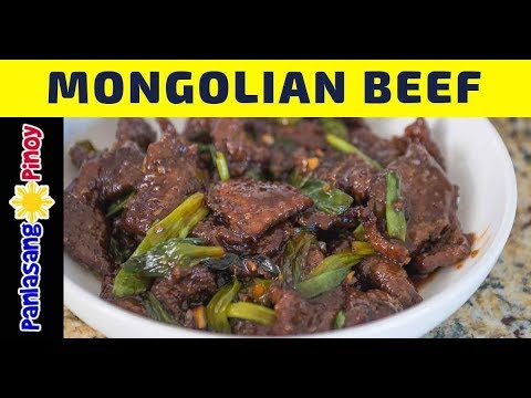 How to Cook Mongolian Beef - Panlasang Pinoy - YouTube