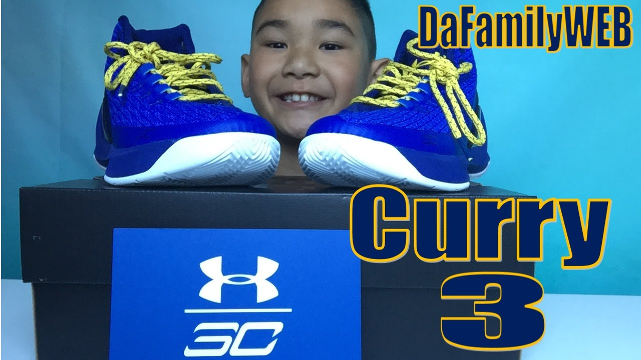 e733777f083 Kid s Curry 3 - Golden State Warriors  Stephen Curry s Signature ...