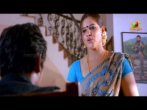 Jeeva looking at an aunty | Simham Puli Movie Scenes | Santhanam | Divya Spandana | Honey Rose