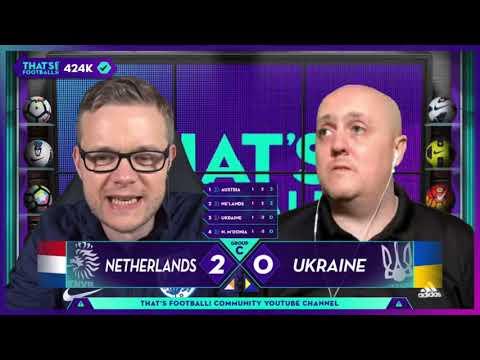 GOLDBRIDGE & CRAIG Best Bits | Netherlands 3-2 Ukraine | EURO 2020