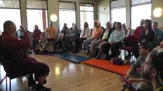 Dhamma Lecture at Aquaplex, Arizona