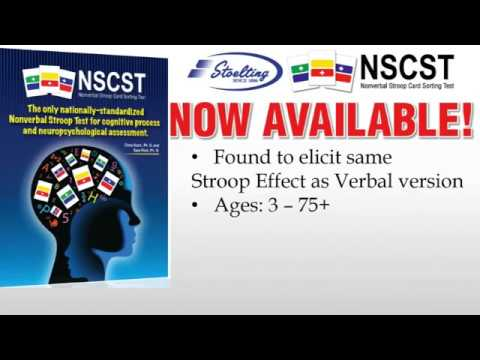 Nonverbal Stroop Card Sorting Test (NSCST) Training Video Sample