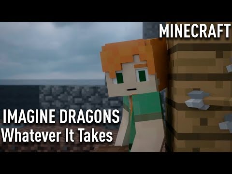 Cover Lagu Imagine Dragons -Whatever It Takes | MINECRAFT | cover STAFABAND