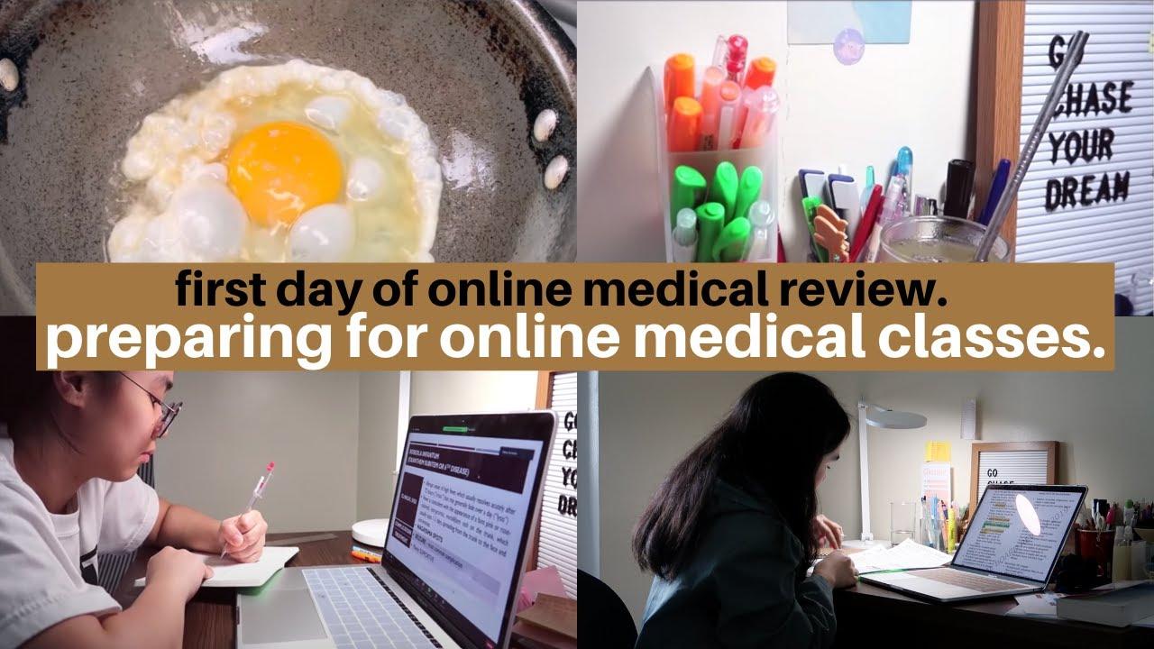 Tips for Online Classes 💻  + surviving online medical school / internship!
