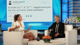Chrissy Teigen on the Moment She Became the Subject of the President
