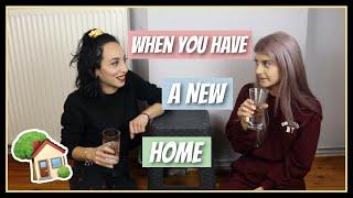 Όταν μετακομίζεις σε καινούριο σπίτι || fraoules22