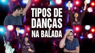 Tipos de Dança na Balada
