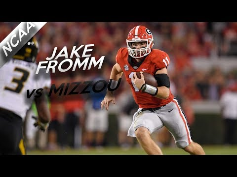 Jake Fromm Highlights vs Missouri // 18/26 326 Yards, 3 Total TDs // 10.14.17
