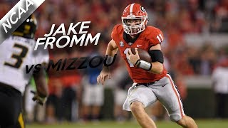 Jake fromm highlights vs missouri // 18/26 326 yards, 3 total tds // 10.14.17
