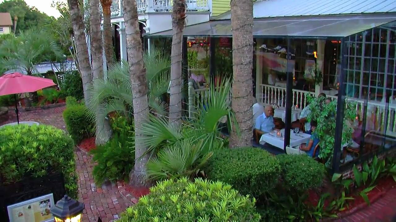 St Augustine Restaurants Raintree Restaurant Youtube