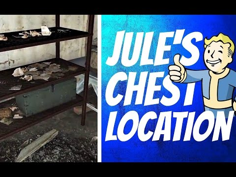Fallout 4: Far Harbor DLC - Jule's Chest Location (The Price of Memory Quest)