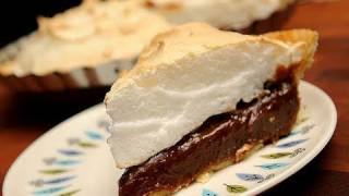 In The Kitchen With Ken -  Aunt Martha's Chocolate Pie