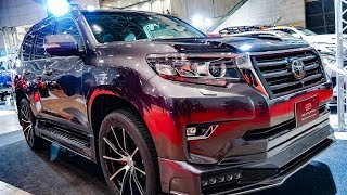 (4K)ELFORD TOYOTA LANDCRUISER PRADO 150 エルフォード ランクルプラド150 - TOKYO AUTO SALON 2019