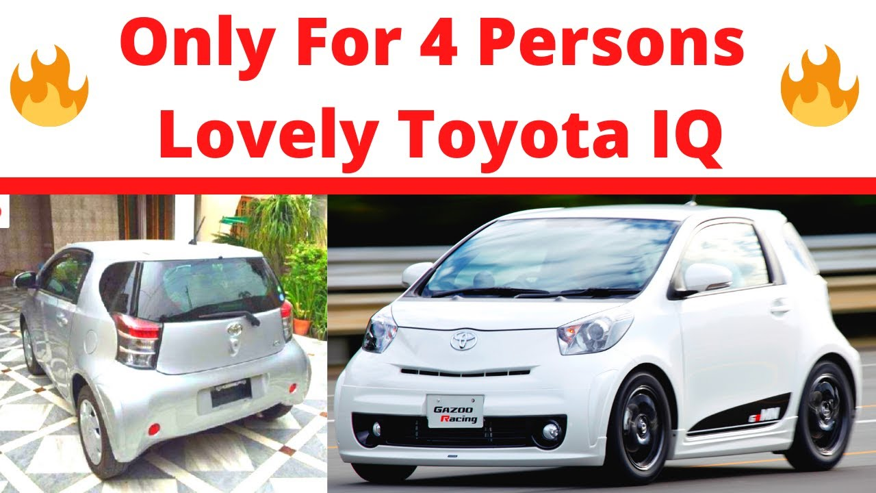 Download Toyota Iq Sincere Review