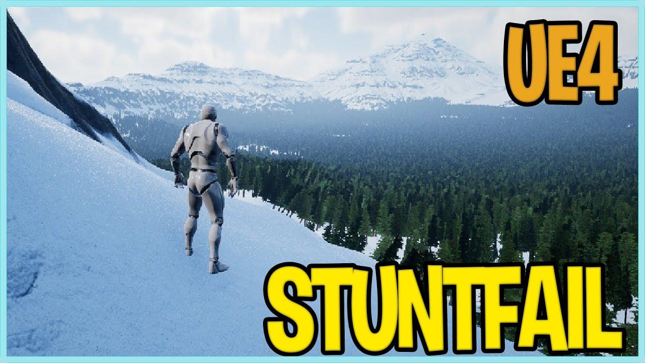 Unreal Engine STEAM - Snow GTA Ragdoll physics - truesky   4 15 UE4  Greenlight