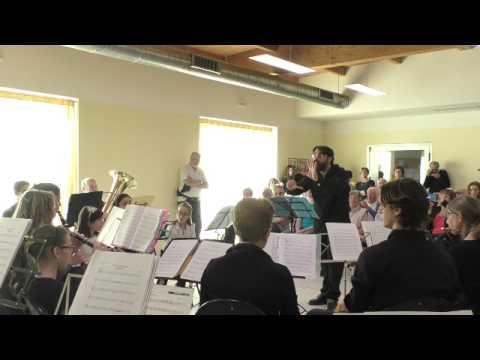"""Banda Musicale Cittadina """"Giuseppe Verdi"""" di Segrate - Concerto al CSP di Rovagnasco - 21/05/2017"""