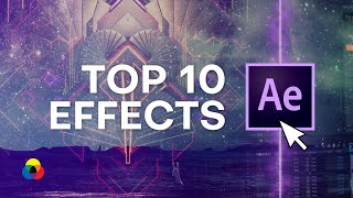Top 10 Best Effects in After Effects 2019