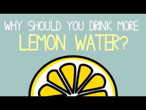 Why Should You Drink More Lemon Water?