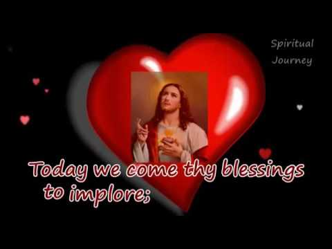 Sweet heart of Jesus song