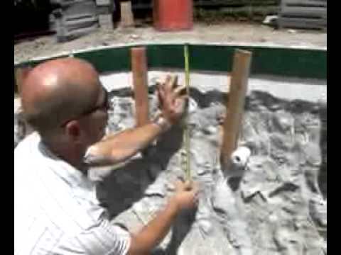 Pool Coping Installation Youtube