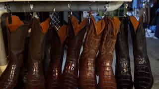 Exotic Skin Cowboy Boot Collection - Lucchese, BlackJack, Tony Lama, Justin, JB Hill