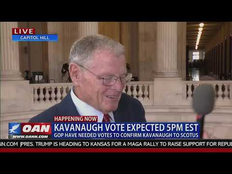 Inhofe Discusses Judge Kavanaugh and Trump Accomplishments on OAN