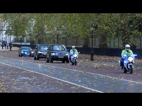 London Metropolitan Police | Special Escort Group escorting someone