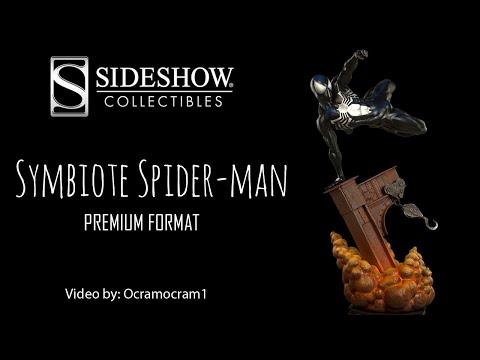 Sideshow Collectibles Symbiote Spider-man Premium Format Statue