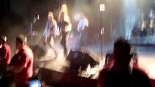 Týr - Intro-The Lay Of Thrym (México 26/01/2013)