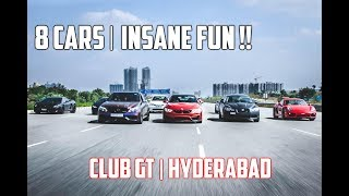 Most Wanted Weekend with 8 Cars in Hyderabad