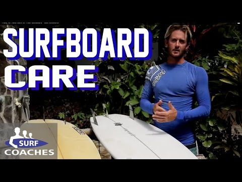 How To Take Care of Your Surfboard - Surf Lessons