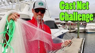 What Can I Catch Using Only a Cast Net Challenge