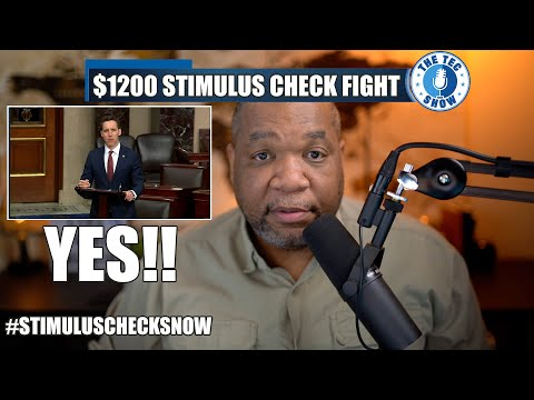 More Support For $1200 Second Stimulus Check + Stimulus Package Update And Enhanced Unemployment