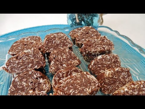 No-Bake Chocolate Coconut Marshmallow Oatmeal Cookies With Jill