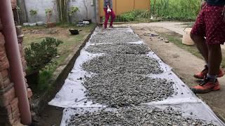 DIY Makeover: Crushed Rock Driveway
