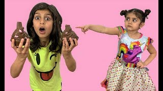 Johnny Johny Nursery Rhymes song - Chocolate Food!