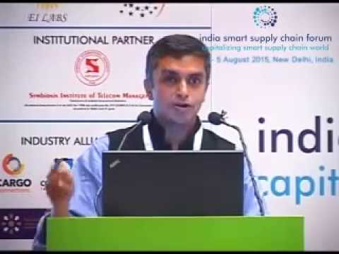 Connection between E-commerce, IoT, Supply Chain: Mr Bipin Kumar