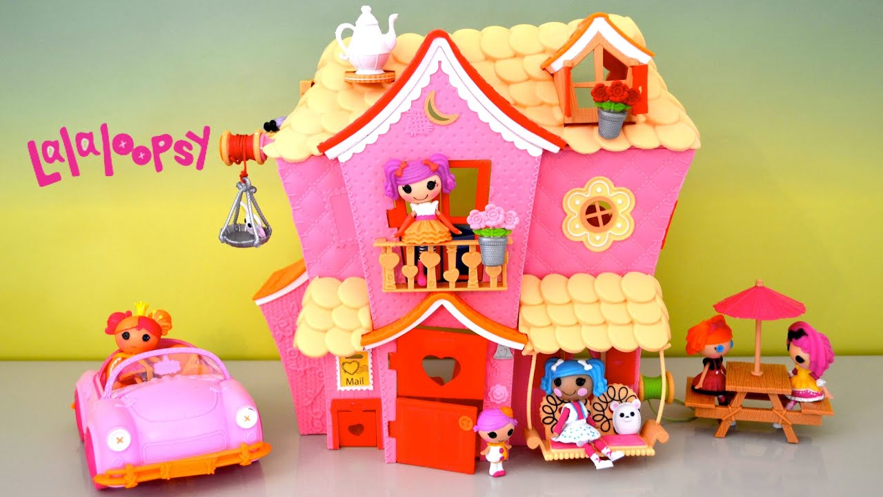 Lalaloopsy Dollhouse Tour