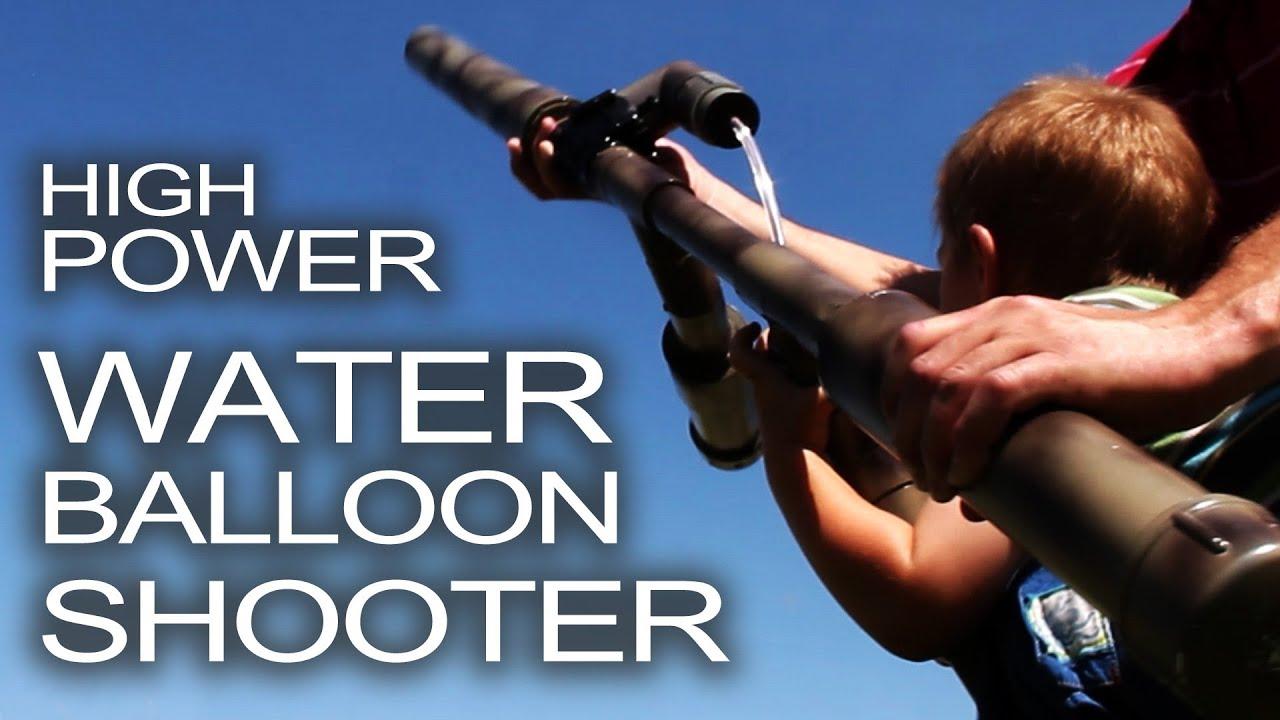 Water Balloon Shotgun Youtube