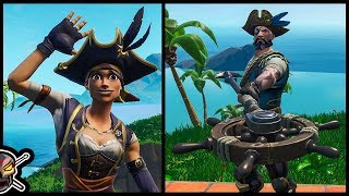 *NEW* SEA WOLF and BUCCANEER Skins in Fortnite!