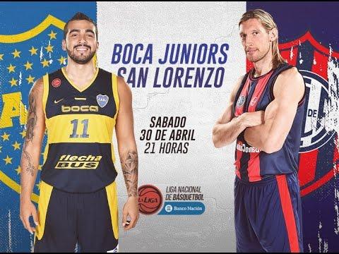 Liga Nacional de Básquet - Boca vs San Lorenzo - LaLigaEnTyC