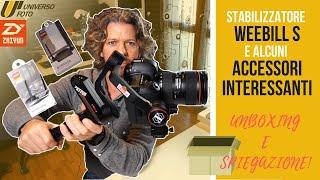 Zhiyun Weebill S - Gimbal per videomaker Video